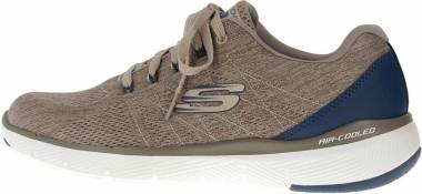 Skechers Flex Advantage 3.0 - Stally - Beige Taupe Blue Tpbl (TPBL)