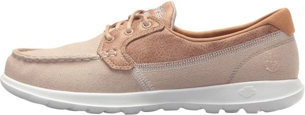 Skechers GOwalk Lite - Coral - Beige Natural (NAT)