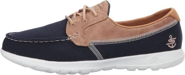 Skechers GOwalk Lite - Coral - Navy (154)