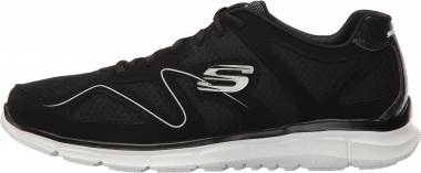 Skechers Satisfaction - Flash Point - Black/White (BKW)
