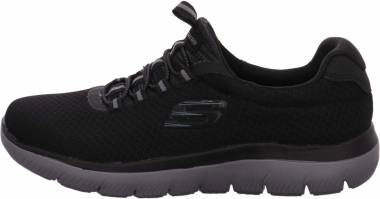 Skechers Summits - BLACK/CHARCOAL (BKCC)
