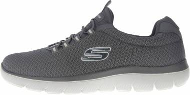 Skechers Summits - Gris Charcoal Mesh Trim Charcoal (52811CHAR)