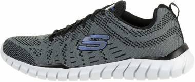 Skechers Overhaul - Debbir - Charcoal/Black
