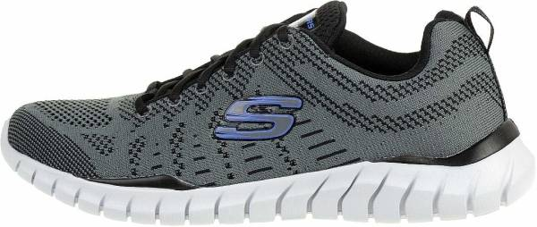 Skechers Overhaul - Debbir - Charcoal Black (022)
