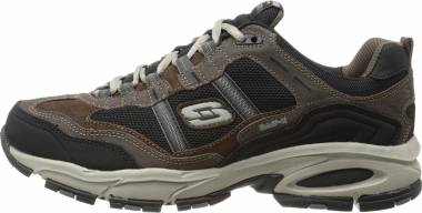 Skechers Vigor 2.0 - Trait - Brown Black (BRBK)