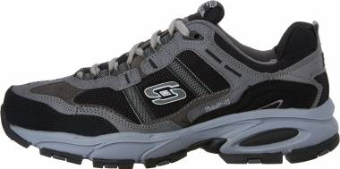 Skechers Vigor 2.0 - Trait - Charcoal Black