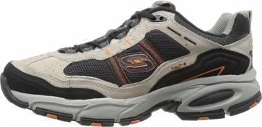 Skechers Vigor 2.0 - Trait - Taupe Black (TPBK)