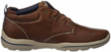 Skechers Relaxed Fit: Harper - Melden - Brown (LUG)