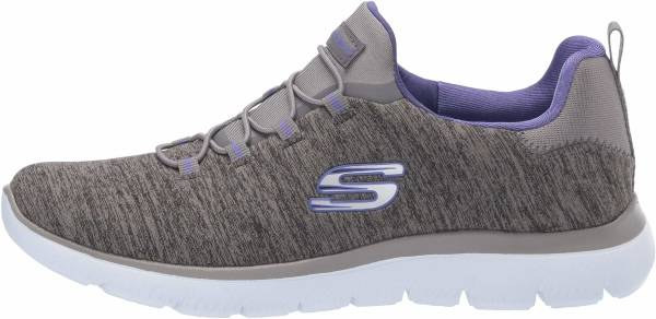 Skechers Summits - Quick Getaway - Charcoal Purple (CHAR)