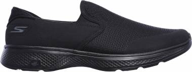 Skechers GOwalk 4 - Contain - Black (BBK)