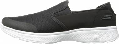 Skechers GOwalk 4 - Contain - Black White (BKW)