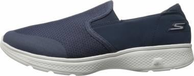 Skechers GOwalk 4 - Contain - Navy Grey (NVGY)