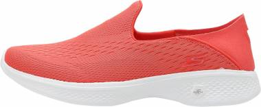 Skechers GOwalk 4 - Convertible - Coral