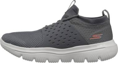 Skechers GOwalk Evolution Ultra - Turbo - Charcoal/Orange (213)