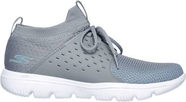 Skechers GOwalk Evolution Ultra - Turbo - Gray/Blue (85)