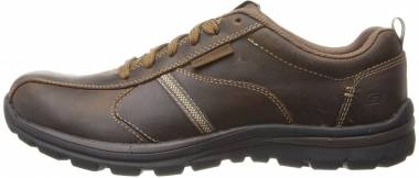 Skechers Relaxed Fit: Superior - Levoy - Dark Brown (CDB)