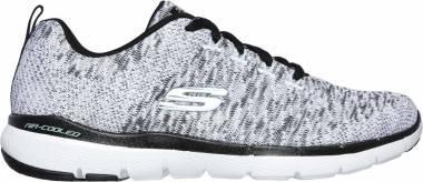 Skechers Flex Appeal 3.0 - Grey (WBK)