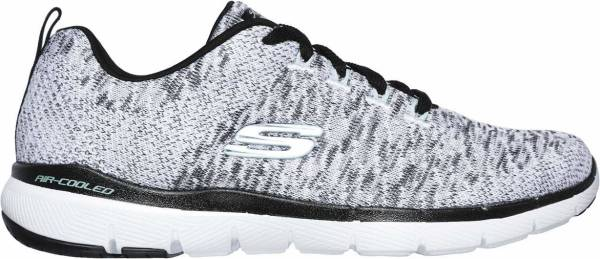 Skechers Flex Appeal 3.0 - Grey (WBK)