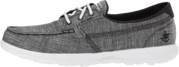 Skechers GOwalk Lite - Isla - Black/White (BKW)