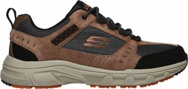 Skechers Relaxed Fit: Oak Canyon Black/Black Men