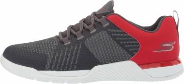 Skechers GOtrain - Viper - Charcoal/Red (544)