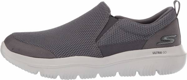 Skechers GOwalk Evolution Ultra - Impeccable - Grey Charcoal Textile Charcoal (EWW)