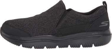Skechers GOwalk Evolution Ultra - Impeccable - Black/Charcoal (BKCC)