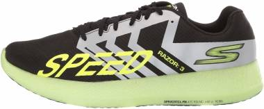 Skechers GOrun Razor 3 Hyper  Black/Lime Men