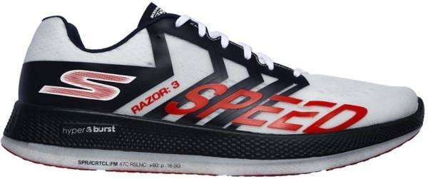 Skechers GOrun Razor 3 Hyper  - White/Navy/Red (WNVR)