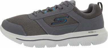 Skechers GOwalk Evolution Ultra - Enhance - Charcoal Light Blue Cclb (628)