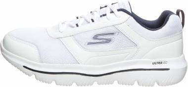 Skechers GOwalk Evolution Ultra - Enhance - White/Navy (129)