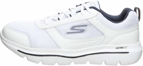 Skechers GOwalk Evolution Ultra - Enhance - White/Navy (129)