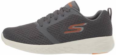 Skechers GOrun 600 - Circulate - Charcoal/Orange (213)
