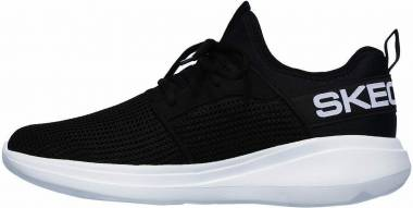Skechers GOrun Fast - Valor - Black/White (BKW)