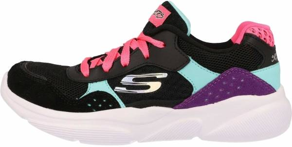 Skechers MERIDIAN CHARTED Ladies Lace Casual Sports Trainers