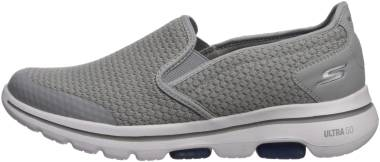 Skechers GOwalk 5 - Apprize - Light Gray/Blue (856)