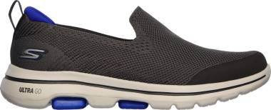 Skechers GOwalk 5 - Prized - Charcoal 917 (CHAR)