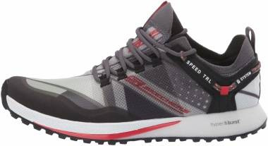 Skechers GOrun Speed TRL Hyper - Charcoal/Red (CCRD)