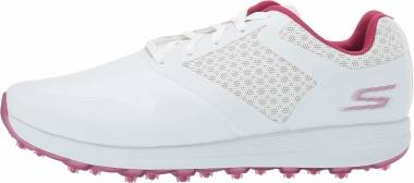 Skechers GO GOLF Max - White Purple