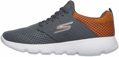 Skechers GOrun Focus - Athos - Charcoal/Orange