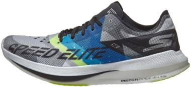 Skechers GOrun Speed Elite - Black/Blue (BKBL)