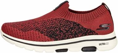Skechers GOwalk 5 - Merritt - Burgundy/Black (BUBK)