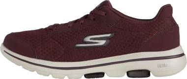 Skechers GOwalk 5 - Qualify - Burgundy (BURG)