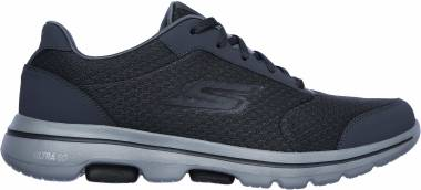 Skechers GOwalk 5 - Qualify - CHARCOAL/BLACK (022)