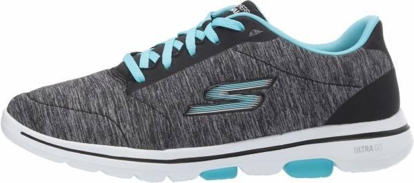 Skechers GOwalk 5 - True - Black Aqua (642)