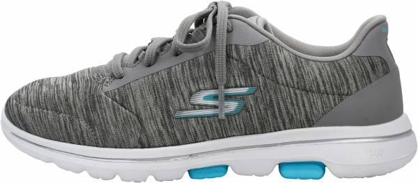 Skechers GOwalk 5 - True - Grey/Light Blue (GYLB)