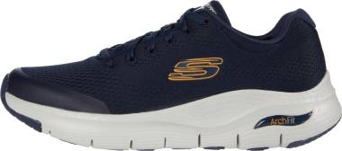 Skechers Arch Fit - Blue Navy Mesh Synthetic Trim Nvy (417)