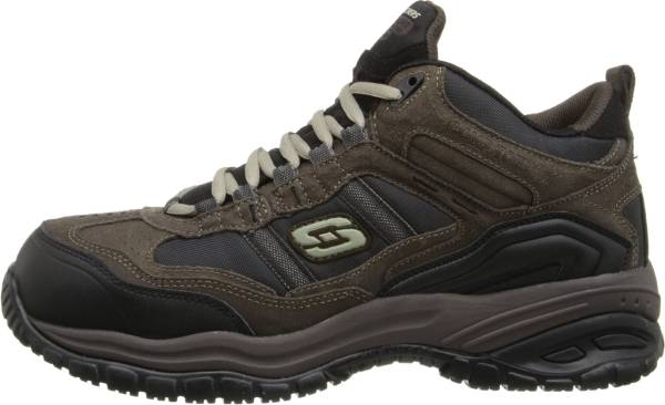 Skechers Work Relaxed Fit: Soft Stride - Canopy Comp Toe - Brown/Black (203)