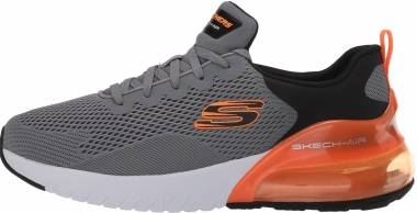 Skechers Skech-Air Stratus - Maglev - Light Gray/Black (LGBK)