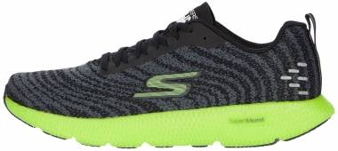Skechers GOrun 7+ - Black/Lime (BKLM)